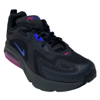 Nike Air Max 200  AT5627-010 Black/Fuchsia/blue Youth Sz 6.5Y Women Sz 8