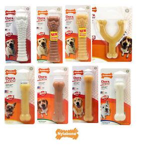 Nylabone Dura Chew Tough Dog Bone Toys  Chicken, Bacon, Peanut Butter, original