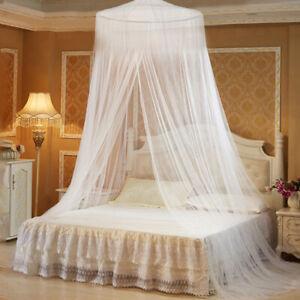 moustiquaire Protection d'insecte de mouche filet de lit Blanc Ciel de Lit   T