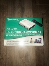 GRANDTEC GXP 2000 PC to TV, (VCR, AND VIDEO PROJECTOR) Video Component