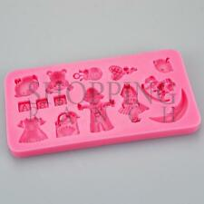 Baby Shower New Born Celebration Silicone Mould ABC Teddy Topper