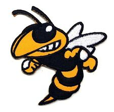 """BEE HORNET WASP PATCH EMBROIDERED VESPA SCOOTER MODS SEW OR IRON ON SIZE 2.5x3"""""""