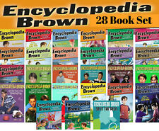 Encyclopedia Brown Complete Set+ Sets the Pace by Donald J Sobol (28 Paperbacks)