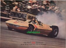 1966 AMT Piranha - Funny car article! 392 Chrysler Hemi powered drag car! 3 page