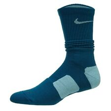 Nike Elite Basketball Crew Men's Socks SX3693-349 Turquoise/Teal Large
