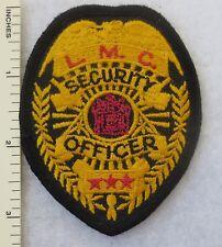 NEW JERSEY L.M.C. SECURITY OFFICER PATCH Vintage ORIGINAL