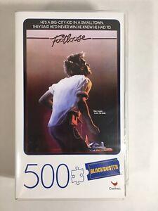 Blockbuster FOOTLOOSE Movie 500 Piece Puzzle In Plastic Case *See Description*