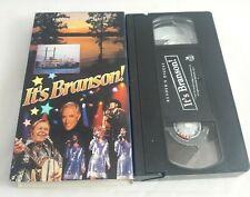 IT'S BRANSON  mickey gilley / boxcar willie / roy clark  VHS VIDEOTAPE