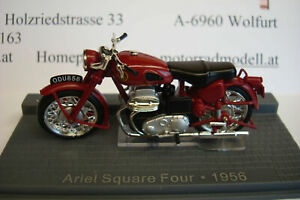 Ariel Squsre Four Red 1956 Top Model 1:24