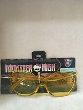 MONSTER HIGH Fashion  Yellow Sunglasses Ages 3+