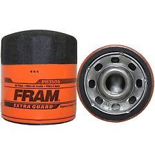 6 FRAM PH3506 EXTRA GUARD OIL FILTERS SPIN ON SURE GRIP FITS MANY GMC CHEVY