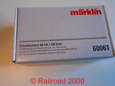 Märklin 60061 Schaltnetzteil 60 VA, 230 Volt, NEU + OVP
