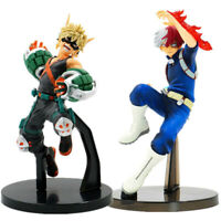 My Hero Academia Vol.2 Todoroki Shoto Bakugou Katsuki Anime Figurine Statue Toy
