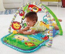 Ab 0 Monate Baby 3 in1 Activity Krabbeldecke Rainforest Spieldecke Spielzeug