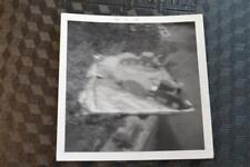 Vintage 1967 Photo Unusual Blurry Happy Birthday Train Cake Free Shipping 302006