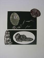 DE VITA Luciano - Senza titolo. 2 lastre di cm 18,5x32,5