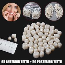 115Pc Temporaire Couronne Dentaire Dent Molar Molaire Fausse Antérieure Prothèse
