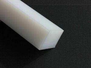 Ptfe Plastique Bloc Plaque Blanc 140x45x20 MM Carré Bloc Rest Pièce
