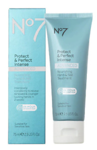 2 X No7 Protect & Perfect Intense Advanced Nourishing Hand & Nail Treatment 75ml