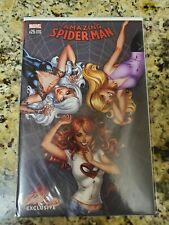 Amazing Spider-Man 25 J Scott Campbell Variant B BLACK CAT MARY JANE GWEN