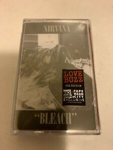 Nirvana - Bleach Cassette - Limited Edition of 500, RED - Tape Head City