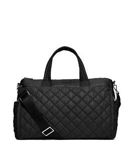 MICHAEL Michael Kors Roberts Large Gym Duffle Bag in Black