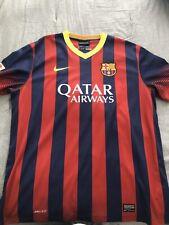 FC Barcelona 2013-2014 Home Jersey XL