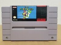 Super Nintendo SNES Super Mario World *Authentic/Cleaned/Tested* *Saves*
