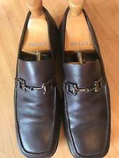 Mens Gucci Brown Leather Shoes 7.5 - 8