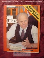 TIME August 9 1976 Aug 8/76 GERALD FORD REPUBLICANS +++