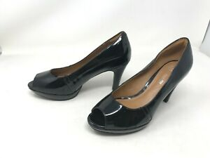 Womens Clarks Collection (20701) Black Heels Shoes (400Q)