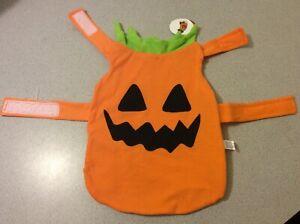 Pumpkin Pet Costume Horizon Size Small Up to 18 lbs Jack-O-Lantern Outfit