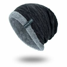 Winter Beanies Slouchy Chunky Bonnet for Men Women Warm Soft Skull Knitting Caps