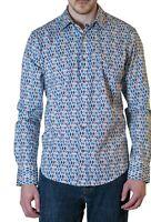 "Robert Graham ""LAKELAND"" Men's Long Sleeve Taylor Fit Shirt XL NEW with Tag $178"