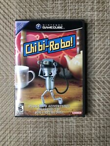 Chibi-Robo Gamecube Box and Manual Very good condition