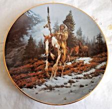 "'Windrider' Mystic Warriors, Hamilton Collection Plate 8-1/4"""