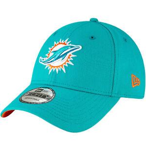 New Era 9FORTY Miami Dolphins NFL League Adjustable Baseball Cap Hat - Blue