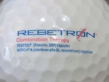 (1) Rebetron Medical Doctor Pharmaceutical Logo Golf Ball