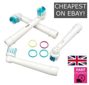 TOOTHBRUSH HEADS For ORAL-B CROSS ACTION ELECTRIC TOOTHBRUSH REPLACEMENT HEADS