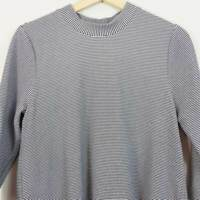 [ SEED HERITAGE ] Womens Textured Funnel neck Top  | Size S or AU 10