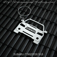 Subaru Forester SG5 Stainless Steel Keychain