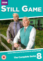 Still Game: The Complete Series 8 DVD (2018) Greg Hemphill cert 15 ***NEW***