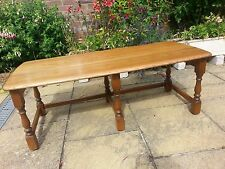 COFFEE TABLE MADE BY ERCOL IN SOLID WOOD - CASH ON COLLECTION PLEASE!