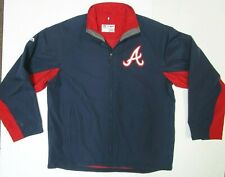 ATLANTA BRAVES AUTHENTIC COLLECTION DUGOUT JACKET NEW W TAGS MAJESTIC MENS LARGE