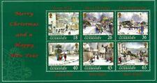 GUERNSEY 2000 CHRISTMAS CHURCHES MINIATURE SHEET MNH