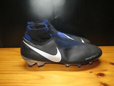 New Nike Phantom Vsn Elite Df Fg Soccer Cleats Ghost Ao3262-004 Flyknit Size 10