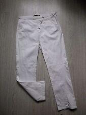 Pantalon ENJOY blanc avec à motifs taille 42 L XL
