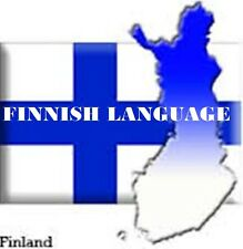 Learn FINNISH -100 Lessons Audio Book MP3 CD-iPod Friendly