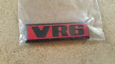 VW Golf 2 Heckemblem VR6 rot GTI Tuning Limited Edition Emblem One Blue Fire