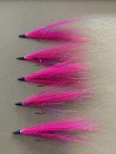 Bucktail River Streamer Flies- Hand Tied - Walleye, White Bass, Salmon (428)
